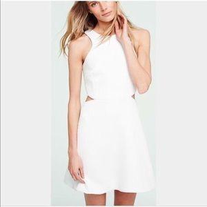 NEW • Club Monaco • Charis Fit N Flare Dress White